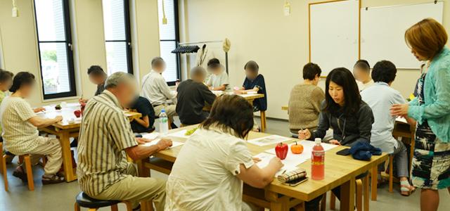 夢ぷら絵画教室 北広島市 講師 武井満寿美